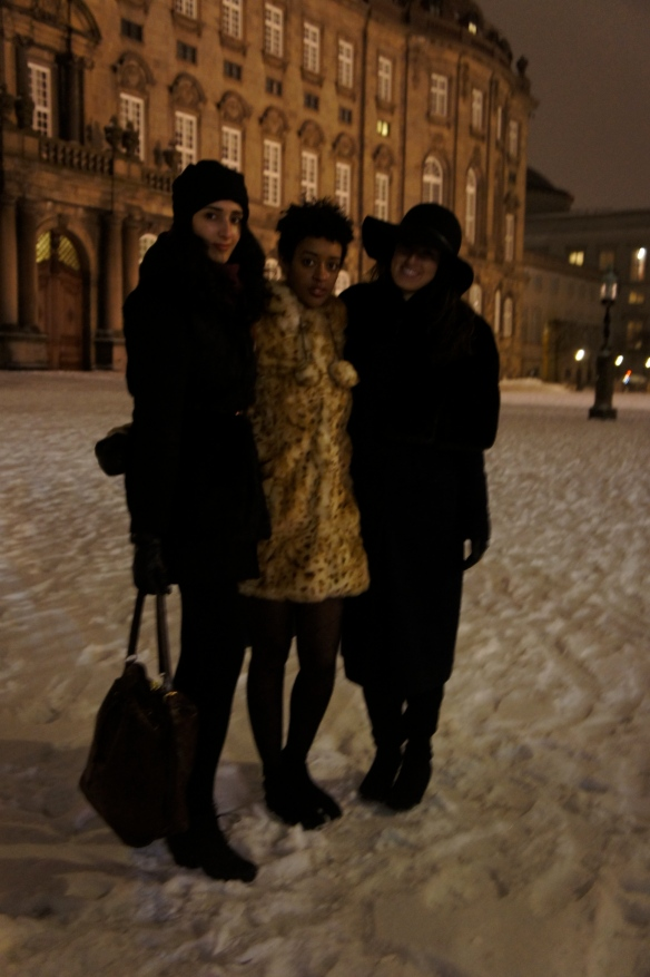 Hybrida girls after a show at Copenhagen Fashion Week