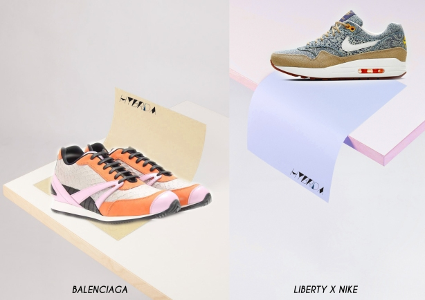 sneakers collage - Hybrida2