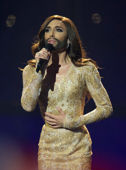 Conchita+Wurst+Eurovision+Song+Contest+Rehearsals+pFsf3XAE7o4l